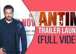 Salman Khan, Aayush Sharma Along With 'Antim' Cast, Launched Trailer : Full Video