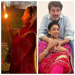 Anupamaa उर्फ Rupali Ganguly ने सोलह श्रृंगार करके मनाया करवाचौथ का त्योहार, फैंस के साथ शेयर कीं PICS