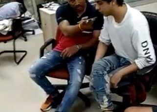 NCB ऑफिस में केपी गोसावी ने कराई थी Aryan Khan की किसी से बात, LEAK हुआ Video