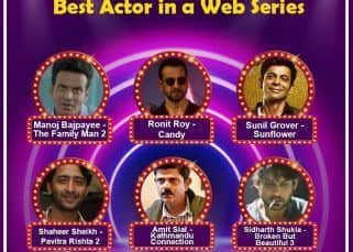 #BLBestOf6: Sidharth Shukla, Manoj Bajpayee, Shaheer Sheikh and more – vote for the Best Actor in a Web Series in the first half of 2021