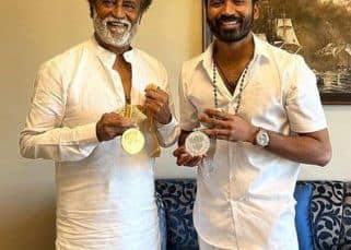 67th National Film Awards: Dhanush ने ससुर Rajnikanth के साथ शेयर की यादगार फोटो, फैंस बोले, 'खानदान में दो कोहिनूर'