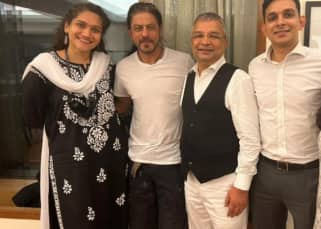 Aryan Khan Bail: Smile returns on Shah Rukh Khan's face as he poses with Satish Maneshinde and team; 'We are grateful to the Almighty' - view pics