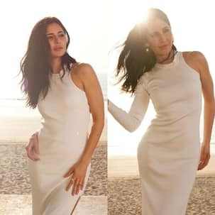 The price of Sooryavanshi diva Katrina Kaif's white bodycon dress for 'a day at the beach' can fund your weekend trip to Goa