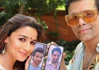 Alia Bhatt and Karan Johar share 'virtual wala love' with Varun Dhawan and Sidharth Malhotra as Student Of The Year clocks 9 years
