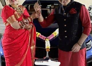 Karwa Chauth पर Govinda ने पत्नी Sunita Ahuja को दी चमचमाती कार, देखें फोटोज