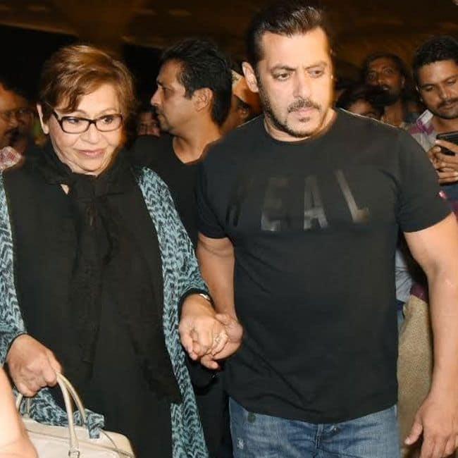 हेलेन और सलमान खान (Helen and Salman Khan)