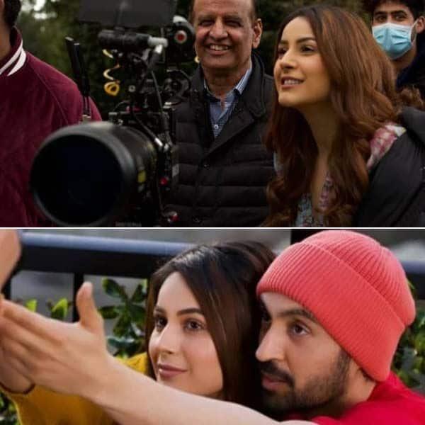 हौसला रख (Honsla Rakh) के सेट पर दिलजीत दोसांझ (Diljit Dosanjh) संग शूटिंग करती दिखीं शहनाज गिल (Shehnaaz Gill)