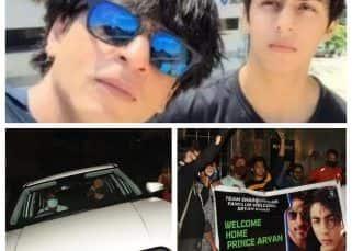 मन्नत के बाहर फैंस ने रोकी Shah Rukh Khan की गाड़ी, ऐसे दी बधाई