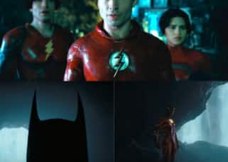 The Flash teaser: Ezra Miller shares a glimpse of Michael Keaton's Batman; reveals they are still in production