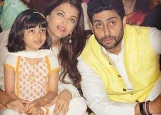 Abhishek Bachchan surprises Aishwarya Rai Bachchan on Karwa Chauth; Amitabh Bachchan pens a heartfelt note