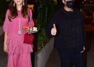 Karwa Chauth 2021: Mira Rajput, Padmini Kolhapure and others celebrate the festival at Anil Kapoor's residence
