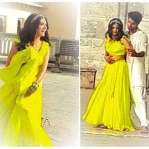 Yeh Rishta Kya Kehlata Hai: This BTS video of Harshad Chopda romancing Pranali Rathod at a scenic location has perfect romantic vibes - Watch