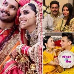 Karwa Chauth 2021: Ranveer Singh ही नहीं, ये सितारे भी रखते हैं अपनी पत्नियों के लिए करवाचौथ का व्रत !!
