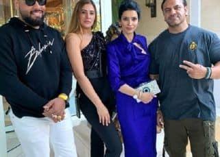 Nargis Fakhri, Jas Mathur, Paiy Hansra and Sheru Aangrish squander some exuberantly time in Las Vegas