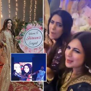 Inside pictures from Yeh Hai Mohabbatein's Shireen Mirza's pre-wedding festivities; Divyanka Tripathi, Aly Goni, Krishna Mukherjee enjoy themselves