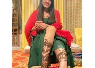 Yeh Hai Mohabbatein actress Shireen Mirza's mehendi function begins – view pics