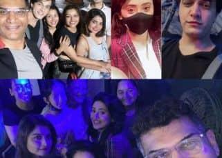 Yeh Rishta Kya Kehlata Hai: Mohsin Khan, Shivangi Joshi party, click smiling selfies and give tight hugs to their lovely team as they bid adieu to the show – view pics