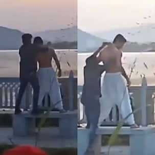 Yeh Rishta Kya Kehlata Hai: A romantic sunset and a shirtless Harshad Chopda in this BTS leaked clip from the sets will leave you impatient for the show