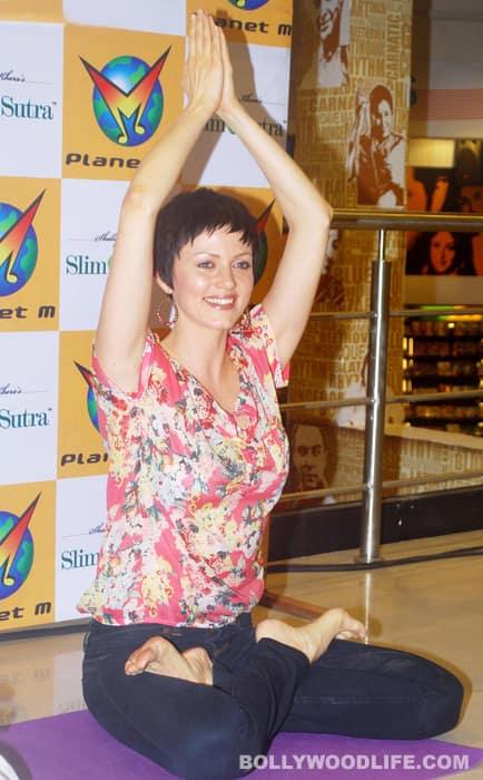 Yana Gupta launches yoga DVD