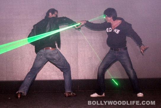 Shahrukh Khan and Arjun Rampal launch RA.One game