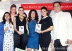 Jacqueline Fernandez, Neha Dhupia and Dalip Tahil at the book launch of 'The Beauty Diet' by Shonali Sabherwal