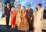 Shahrukh Khan, Aamir Khan, Kiran Rao, Farhan Akhtar at Prerna Ghanshyam-Abhinav Jhunjhunwala wedding