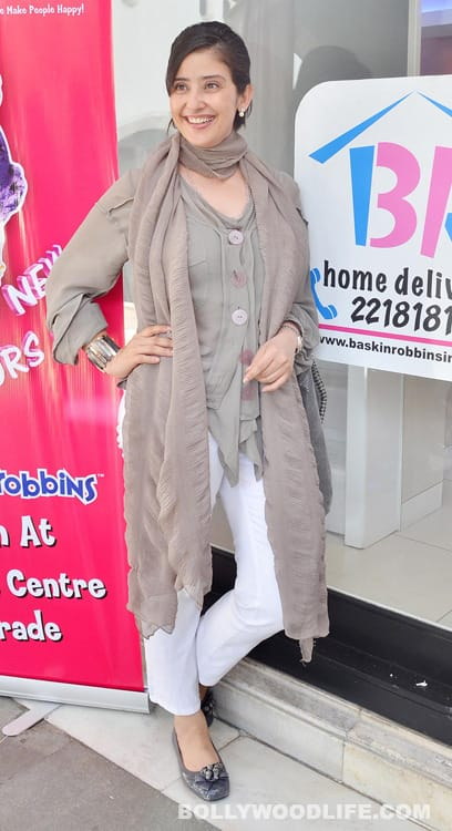 Manisha Koirala at the launch of new Baskin-Robbins store