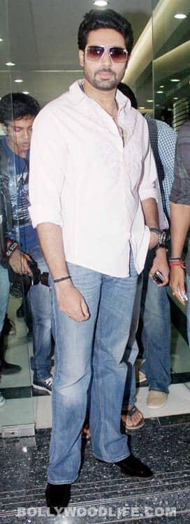 Abhishek Bachchan, Ajay Devgn, Rohit Shetty promote 'Bol Bachchan'