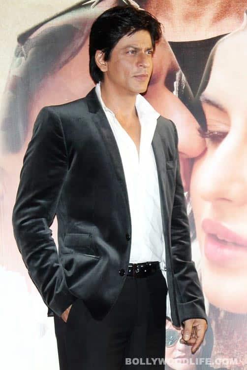 Shahrukh Khan launches the music of Jab Tak Hai Jaan
