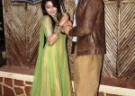 Ranveer Singh and Sonakshi Sinha on the sets of Uttaran