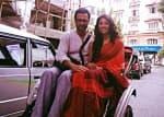 In Focus: Rohit Roy and Paoli Dam ride a Kolkata rickshaw