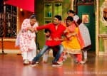 Holi Special: Mouni Roy, Terence Lewis, Remo D'Souza on the sets of Comedy Nights with Kapil