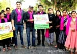 Nandish Sandhu promotes the cause of cancer awareness!
