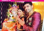 Gurmeet Choudhary, Debina Bonnerjee and Sapna Pabbi seek blessings from Ganpati bappa - View pics!