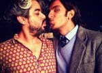 Ranveer Singh shares a funny moment with Kill Dil director Shaad Ali-view pic!