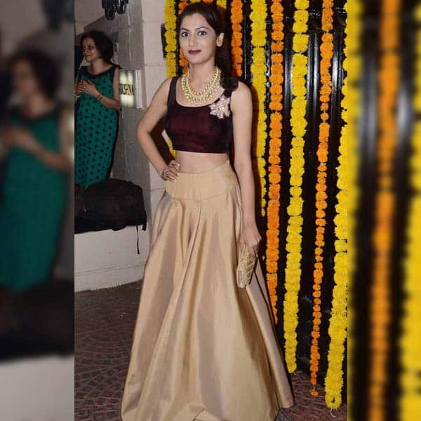 Kumkum Bhagya's lead actress Sriti Jha was also present at the party
