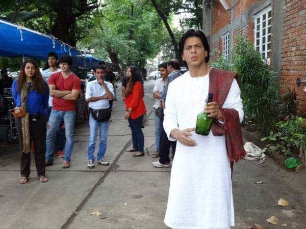 Shahrukh Khan in Devdas getup (5)
