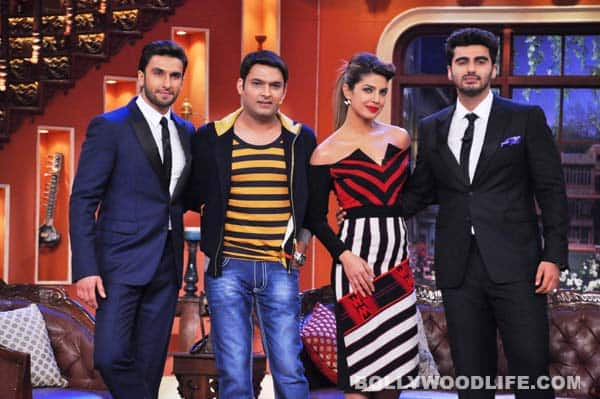The-cast-of-Gunday–Ranveer-Singh,-Priyanka-Chopra-and-Arjun-Singh-on-the-sets-of-Comedy-Nights-with-Kapil-1