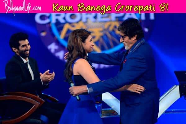 Kaun Banega Crorepati 8: Amitabh Bachchan charms Parineeti Chopra – View pics!