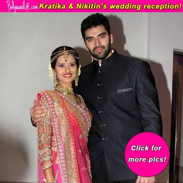 Nikitin Dheer and Kratika Sengar married – View reception pics!