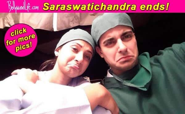 Gautam Rode bids the cast and crew of Saraswatichandra goodbye – View pics!