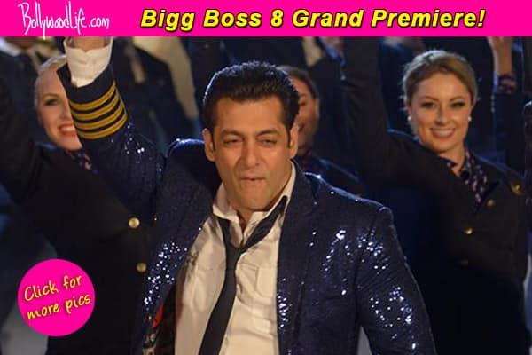 Bigg Boss 8 grand premiere: Salman Khan gives an entertaining performance – View pics