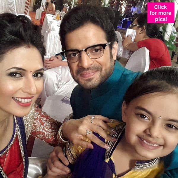 Yeh Hai Mohabbatein: Karan Patel aka Raman and Divyanka Tripathi aka Ishita celebrate Lohri on the sets- view pics!