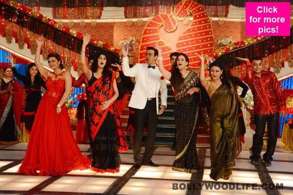 Itna Karo Na Mujhe Pyaar: Rohit Roy dances with Mona Singh, Aishwarya Sakhuja, Pratyusha Banerjee – watchvideo!