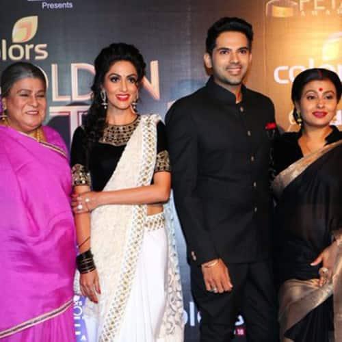 Colors Golden Petal Awards 2016: Thapki Pyar Ki Cast At Red Carpet Of Colors Golden Petal