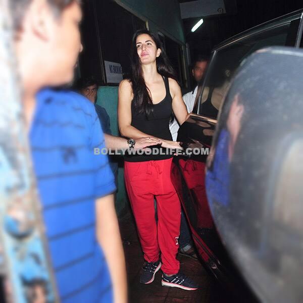 Katrina Kaif snapped post Dream Team concert practice