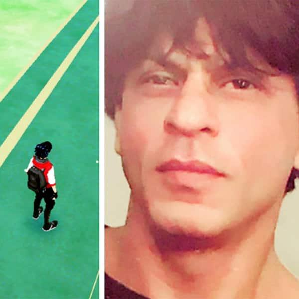 Shah Rukh Khan playing Pokemon Go game