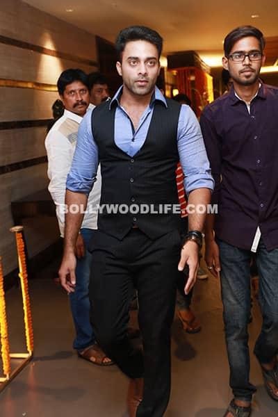 Navdeep snapped during director Krish and Ramya Velaga wedding