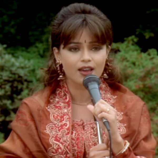 Mahima Choudhry's still from 'I Love My India' of 'Pardes'