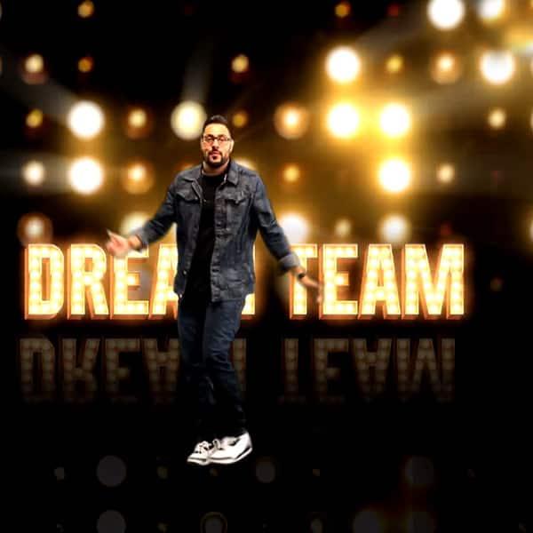 Rapper Badshah's still from Dream Team promo